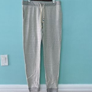 Sol Angeles Gray Joggers Large